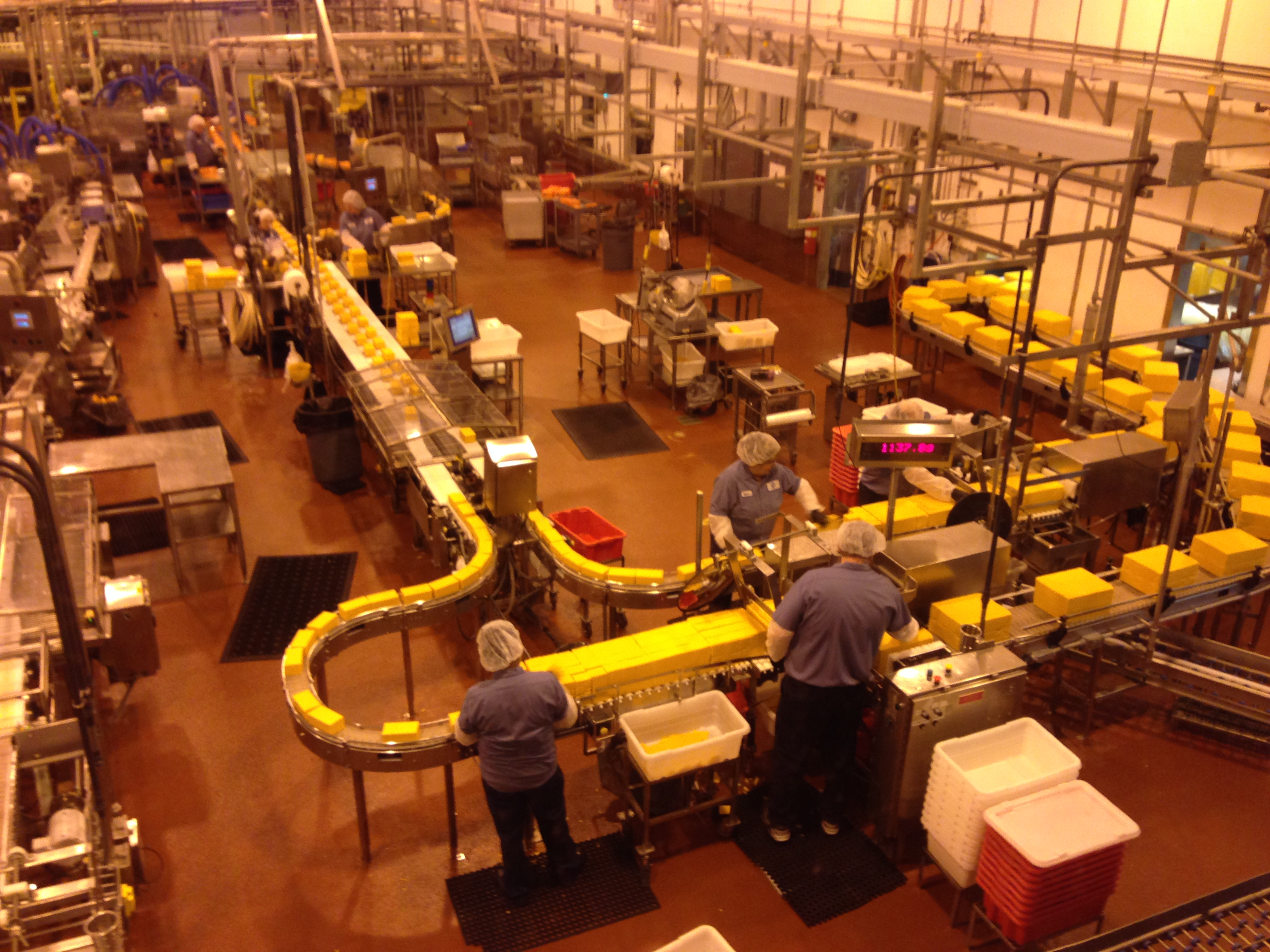 oregon cheese factory
