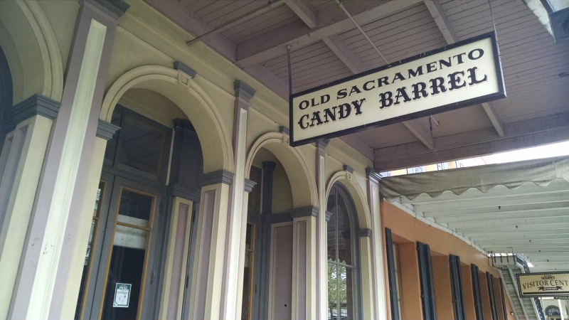 Candy Barrel is another old-fashioned candy store in Old Sacramento.