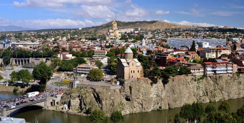 Tbilisi, Georgia, via Vladimer Shioshvili