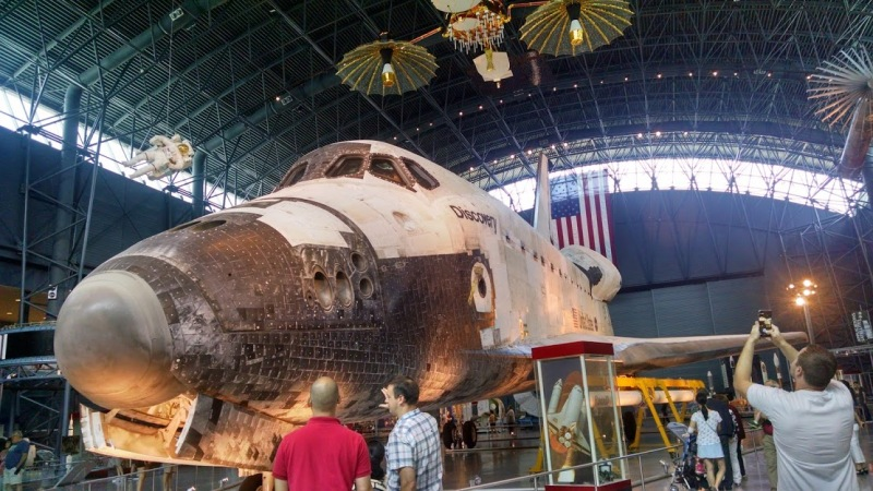 Discovery Space Shuttle.