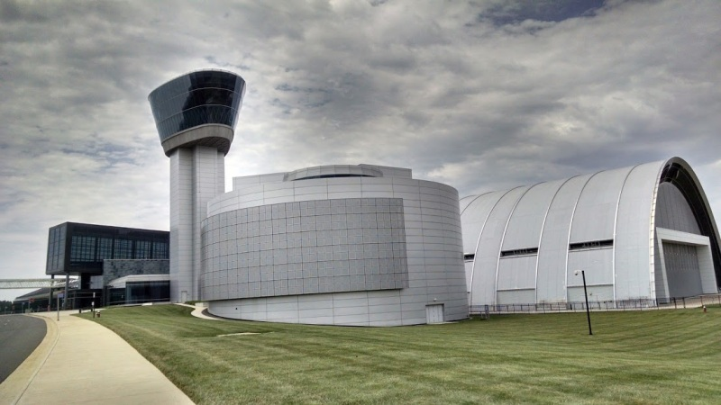 The Smithsonian National Air and Space Museum — Steven F. Idvar-Hazy Center.
