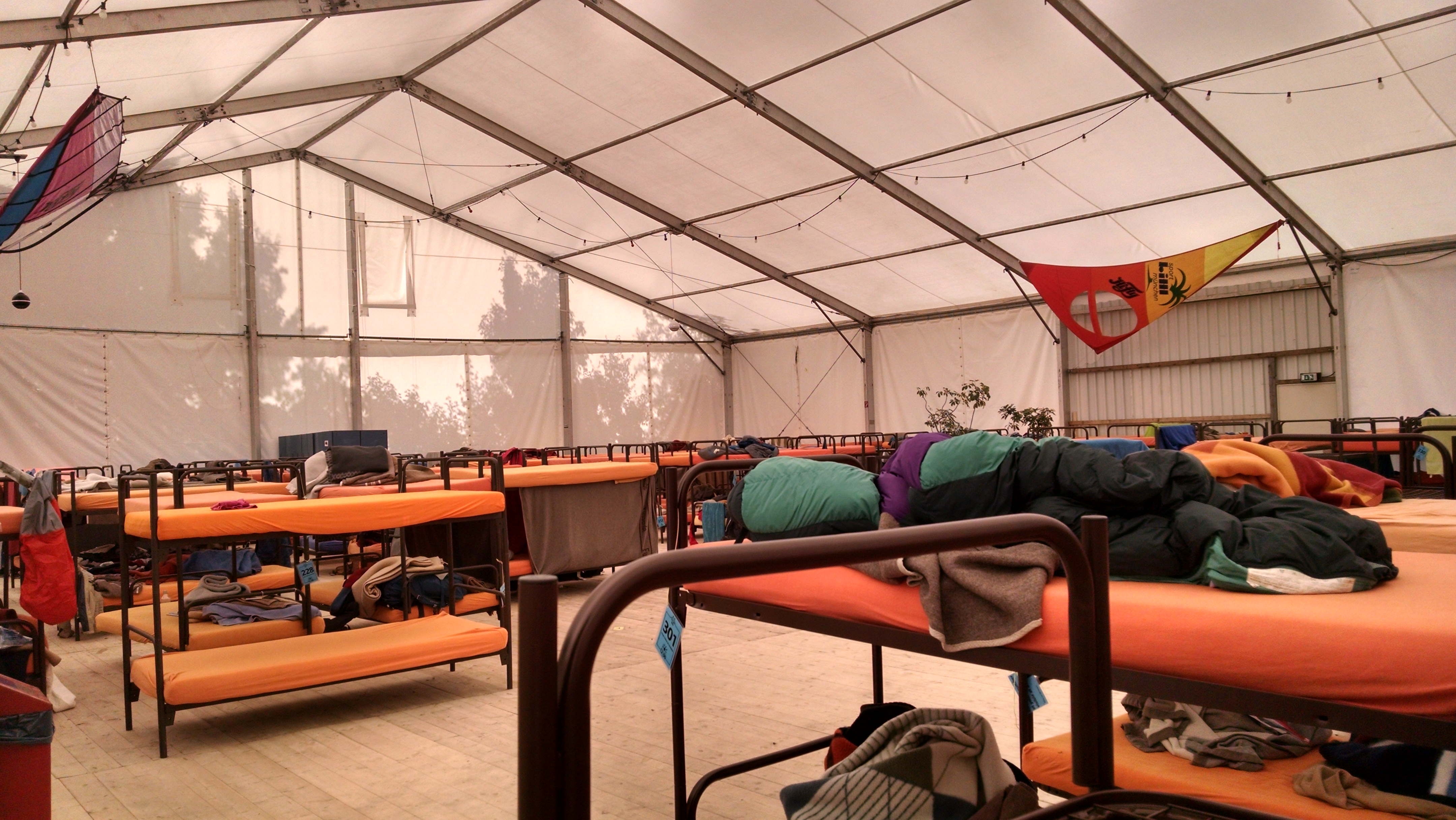 Inside Of The Bunk Bed Tent