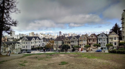 Alamo Square and Painted Ladies