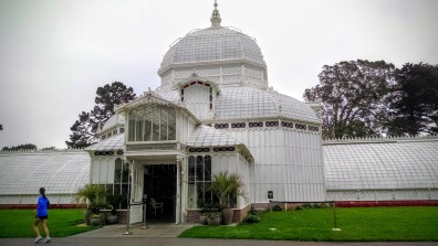 Golden Gate Park and Conservatory of Flowers.