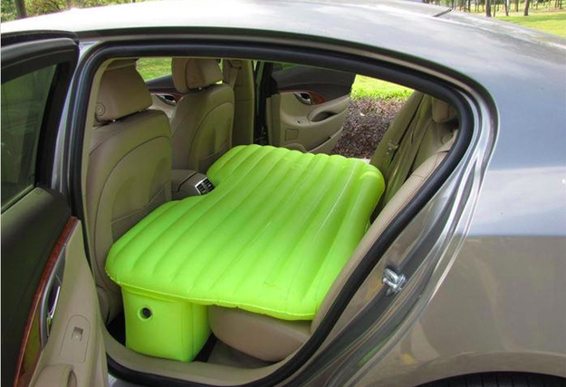 Finally, a way to sleep in your car that might actually be comfortable