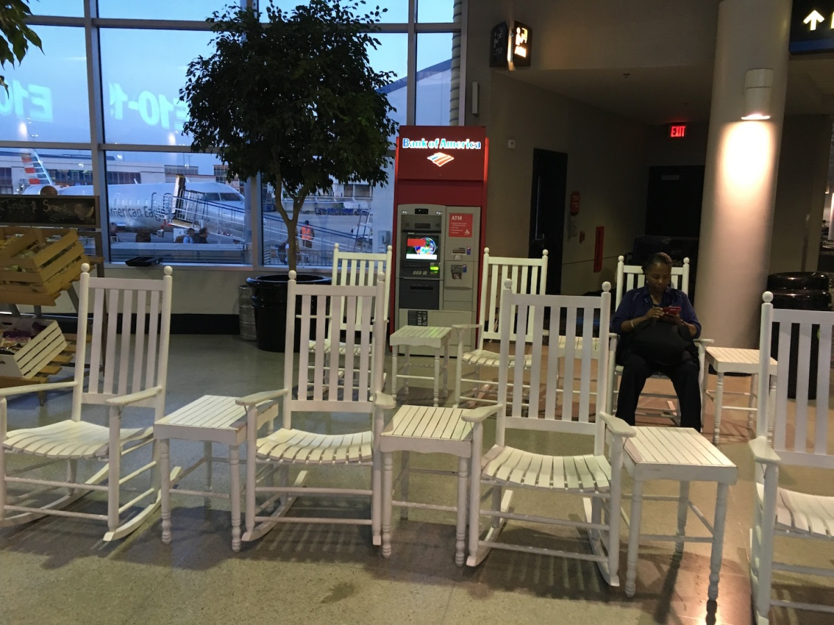 Rocking Chairs Are Now The Cool Thing To Put In Airports Tripping Over The World